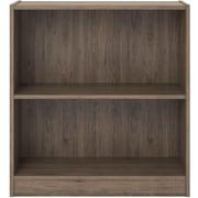 "Ameriwood Hayden 2 Shelf Bookcase, Grey Sonoma Oak, 30""H (9613333ST)"