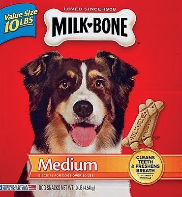 Milk Bone Original Dog Biscuits, Medium, 10lbs (SMU9501)