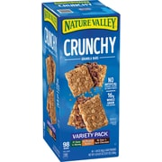 Nature Valley® Crunchy Granola Variety Pack, 49 2-packs/Box (GEM44136)