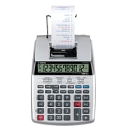 Canon® Printing Light-Medium Duty Calculators, P23-DHV, Portable, 12-Digit, Gray/Silver