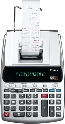 canon printing calculator mp11dx staples rh staples com Philco Radio Phonograph Canon Printing Calculator