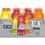 Gatorade Multisport Variety 12pk, 20oz Bottles (QUA20162)