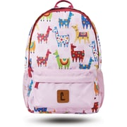 "Staples Paxton 16"" Backpack, Llamas Pattern, 4.72""W x 16.14""H x 11.81""D (52396)"