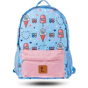 "Staples Paxton 16"" Backpack, Ice Cream Pattern, 4.72""W x 16.14""H x 11.81""D (52397)"