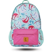 "Staples Paxton 16"" Backpack, Sloth Pattern, 4.72""W x 16.14""H x 11.81""D (52398)"