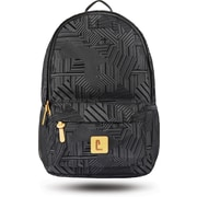 "Staples Sixteen 60 18"" Backpack, Black & Partial Flocking, 5.51""W x 17.71""H x 11.81""D (52406)"