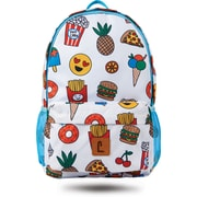 "Staples Sixteen 60 18"" Backpack, Emoji Pattern, 5.51""W x 17.71""H x 11.81""D (52407)"
