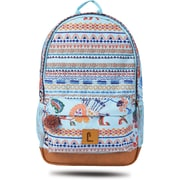 "Staples Dalton 18"" Backpack, Multicultural Pattern, 5.51""W x 17.71""H x 11.81""D (52411)"