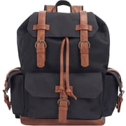 Canvas Rucksack Backpack, Black (52417)