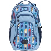 "Staples Pembroke 18"" Backpack, Sneakers Pattern, 6.88""W x 18.11""H x 12.20""D (52423)"