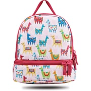 "Staples Kids Lunch Bag, Llamas Pattern, 8.66""W x 9.25""H x 5.71""D (52431)"