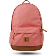 "Staples Dalton 18"" Backpack, Pink, 5.51""W x 17.71""H x 11.81""D (52409)"