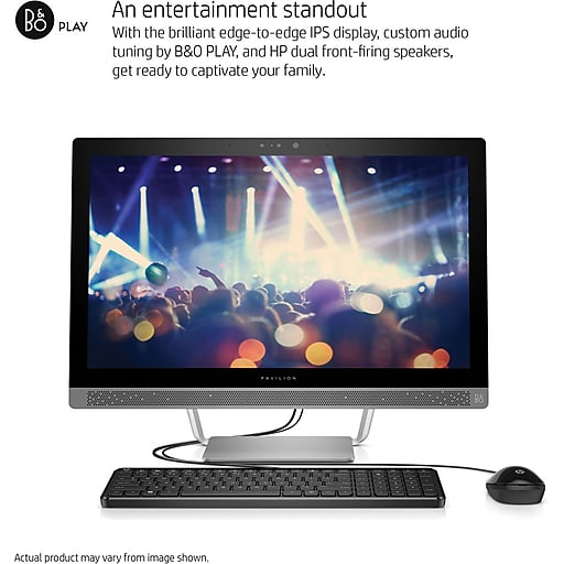 HP Pavilion All-in-One 24-b016 Desktop (Intel i3 Processor, 8GB RAM Memory,  1TB Hard Drive)