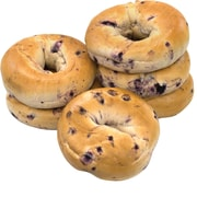 Fresh Blueberry Bagels, 6 Count (900-00007)