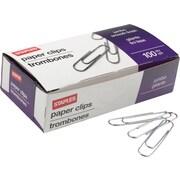Staples® Jumbo Paper Clips, Nonskid, 1,000/Pack