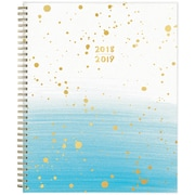 2018-2019 Ampersand for Blue Sky 8.5x11 Weekly/Monthly Planner, Splatter Ombre (108348)