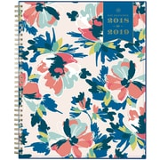 2018-2019 Day Designer for Blue Sky 8.5x11 Weekly/Monthly CYO  Cover Planner, Carrie Floral  (108309)