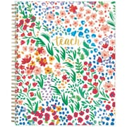 2018-2019 Blue Sky 8.5x11 Weekly/Monthly Planner, Ditsy Dapple Floral (108637)