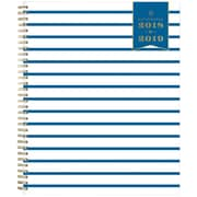 2018-2019 Day Designer for Blue Sky 8.5x11 Weekly/Monthly Planner, Navy Thin Stripe  (108330)