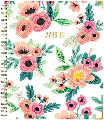 2018-2019 Blue Sky 8x10 Weekly/Monthly Planner, Hailey (104817)