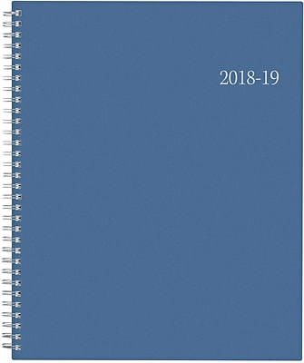 2018-2019 Blue Sky Academic Weekly/Monthly Planner, Endless Summer, 8-1/2