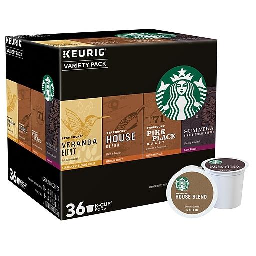 Keurig® K-Cup® Starbucks® Coffee Variety Pack,  36 Count