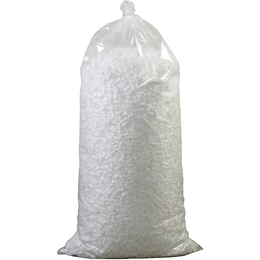 Partners Brand Loose Fill Packing Peanuts, 7 Cubic Feet, White (7NUTSW)