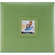 "MBI Earthtone Post Bound Album W/Window 12""X12""-Leaf"