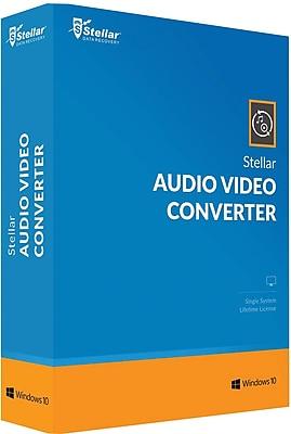 Stellar Audio Video Converter for Windows (1 User) [Download]