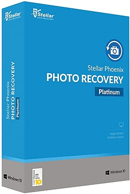 Stellar Phoenix Photo Recovery Platinum for Windows (1 User) [Download]