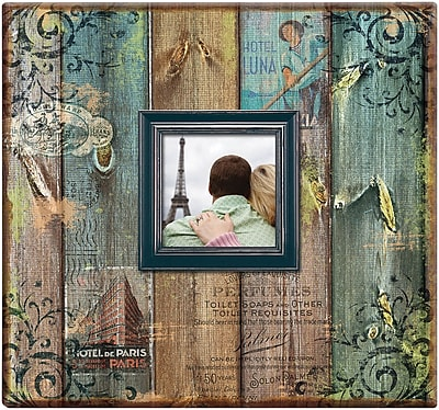 MBI Vintage Travel Post Bound Album W/Window 12