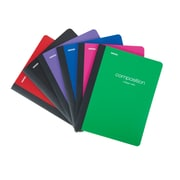 Staples® Poly Composition Notebook, College Ruled, Assorted