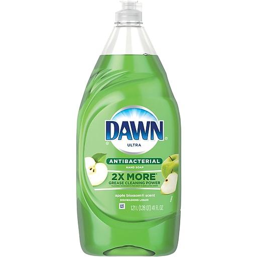 Dawn Ultra Antibacterial Dishwashing Liquid, Apple Blossom (74703)