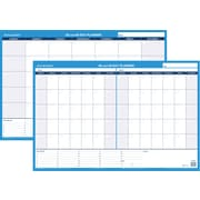 "AT-A-GLANCE® 30/60-Day Undated Horizontal Erasable Wall Calendar, Reversible, 36"" x 24"" (PM233P-28)"
