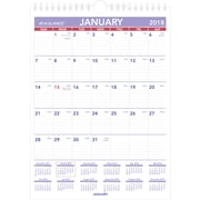 "2018 2018 AT-A-GLANCE®® Monthly Wall Calendar, January 2018 - December 2018, 8"" x 11"", Mini Size, Wirebound (PM1-28-18)"