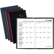 """AT-A-GLANCE® DayMinder® Academic Monthly Pocket Planner, 14 Months, July Start, 3 5/8"""" x 6 1/16"""", Assorted Colors (AY53-10-19)"""