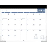 "AT-A-GLANCE® Easy-to-Read Academic Monthly Desk Pad, 12 Months, July Start, 22"" x 17"" (SKLPAY32-19)"
