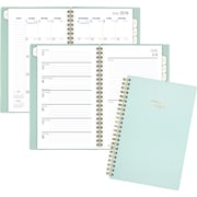 """AT-A-GLANCE® Color Bar Academic Weekly/Monthly Planner, 12 Months, July Start, 4 7/8"""" x 8"""", Mint (1123-200A-23-19)"""