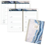 """AT-A-GLANCE® Sapphire Academic Weekly/Monthly Planner, 12 Months, July Start, 4 7/8"""" x 8"""", Multicolor (1106-200A-19)"""