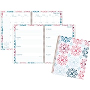 """AT-A-GLANCE® Lydia Academic Weekly/Monthly Planner, 12 Months, July Start, 8 1/2"""" x 11"""", Multicolor (1109-905A-19)"""