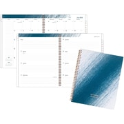 """AT-A-GLANCE® High Tide Teal Academic Weekly/Monthly Planner, 12 Months, July Start, 8 1/2"""" x 11"""" (1108-905A-42-19)"""