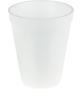 Staples Disposable Foam Hot/Cold Cups, 12 Oz.,