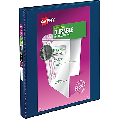 Avery Durable .5-inch 3-Ring View Binder (34116)