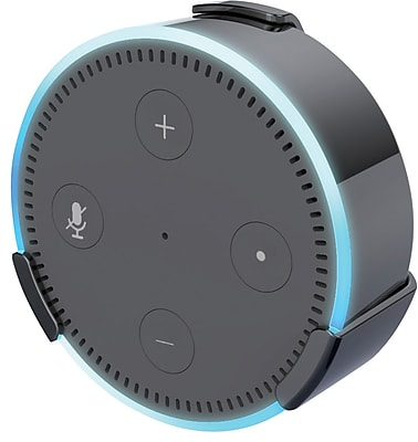 360 Electrical EasyClip™ Echo Dot Mount, Black (360572-5CA6ES)