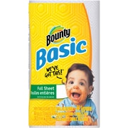 Bounty® Basic Paper Towels, 44 Sheets/Roll, 30 Rolls/Case
