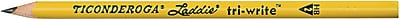 Dixon Ticonderoga® Laddie tri-write Pencils without Eraser, No. 2, Box of 36 (DIX13044)