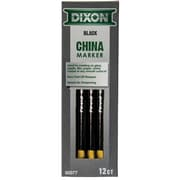 Dixon China Markers, Black