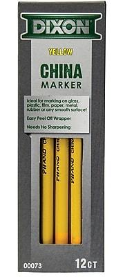 Dixon China Markers, Yellow