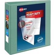 "Avery® Heavy-Duty View Binders with One Touch™ EZD® Ring, 3"", Sea Green"