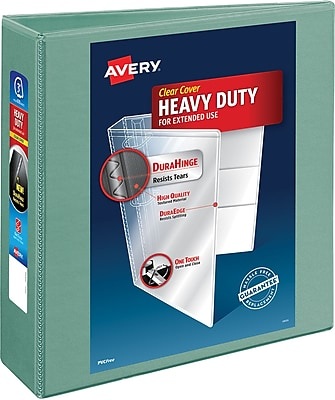 Avery® Heavy-Duty View Binders with One Touch™ EZD® Ring, 3